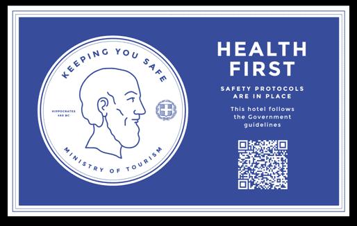 Health protocol icon